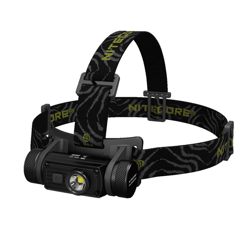 Nitecore (Sysmax Industrial) HC60W Rechargeable Headlamp with Neutral White, Black