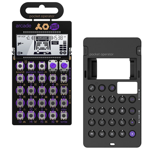 Teenage Engineering: PO-20 Arcade Pocket Operator + Silicone Case Bundle