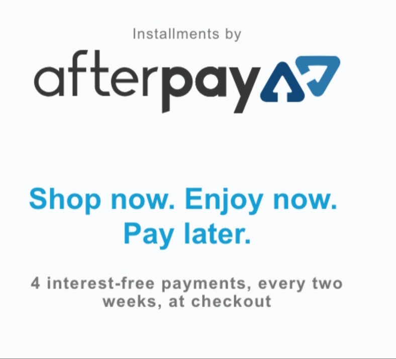 964395766eaf7 Shop now pay later! Pick from our 3 partners Afterpay