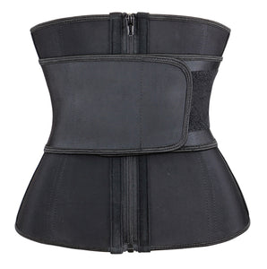 Black Hourglass Sweat Belt Waist Trainer