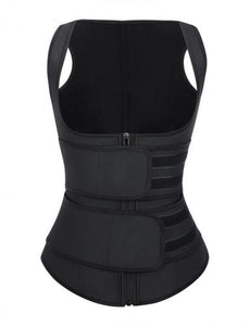 Double Strapped Hourglass Sweat Belt Vest