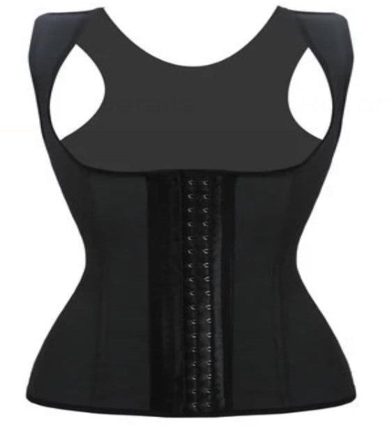 Women's Black Waist Trainer Vest