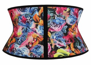 Colorful Floral Rose Waist Trainer