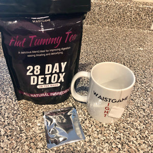 All natural Flat Tummy Tea