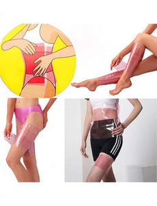 Reusable Pink Plastic Waist and Body Wrap