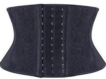 Lovely Lace Small Torso Latex Waist Trainer Shapewear