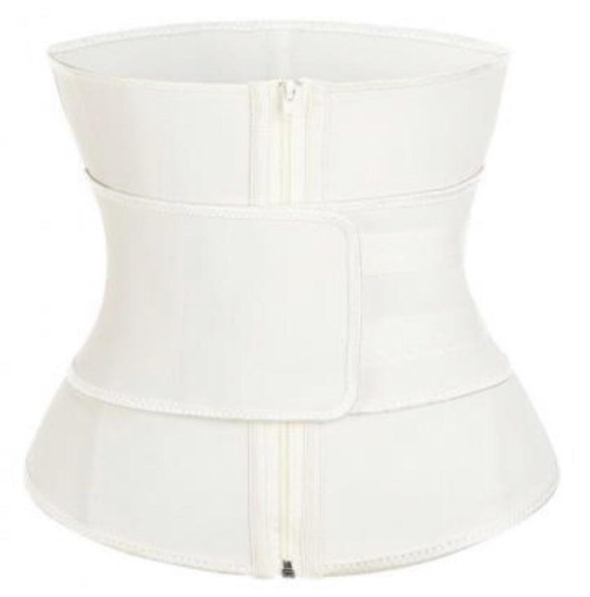 Nude Super Latex Hourglass Sweat Belt Waist Trainer