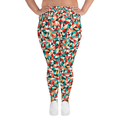 All-Over Colors Plus Size Yoga Pants/Leggings