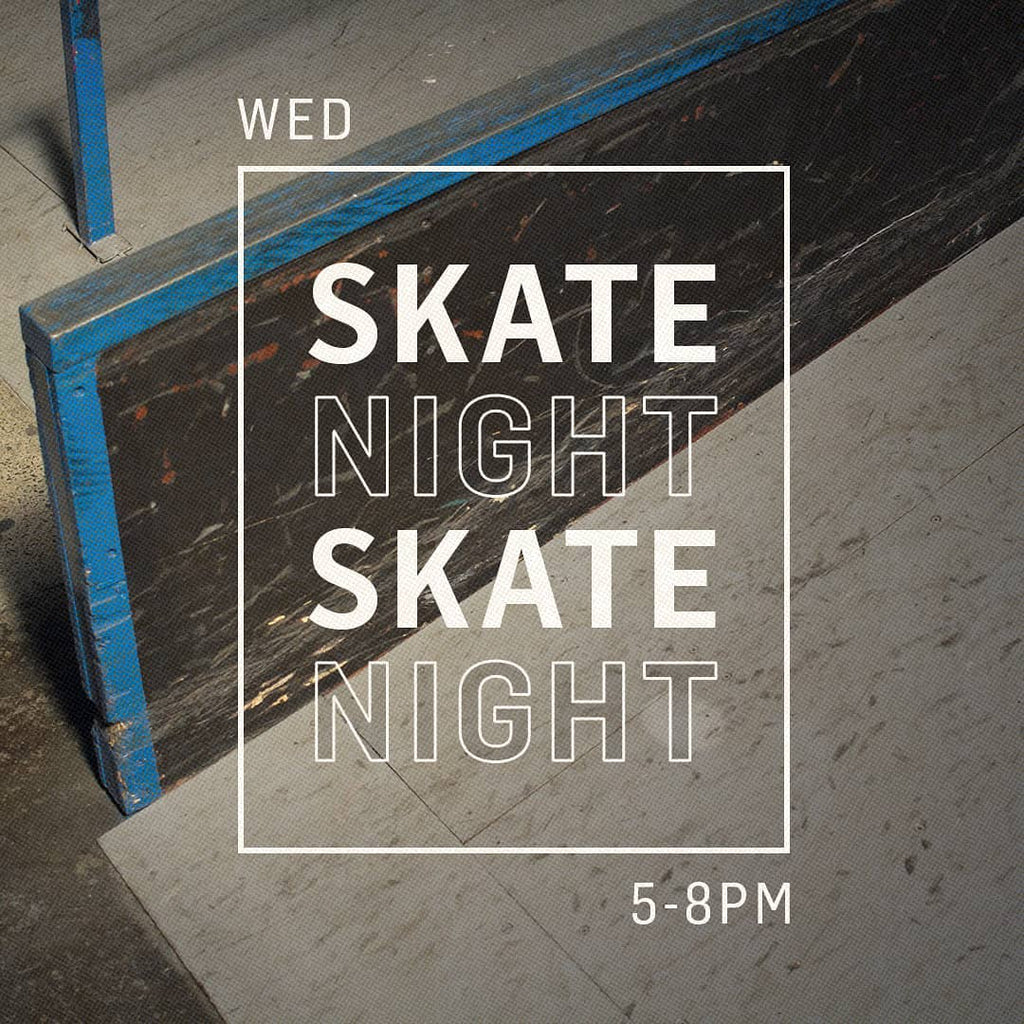 We are starting Skate Night...