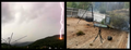 Man Tries To Capture A Lightning Storm Outside On Camera, Records The Scariest Moment Of His Life!