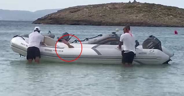 Drunk Tourist Passed Out In A Stranger's Boat Got A 5 Star Wake Up Call