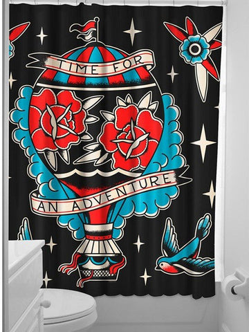 shower curtain by sourpuss clothing