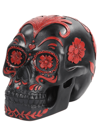 """Day of the Dead"" Skull by Pacific Trading - www.inkedshop.com"
