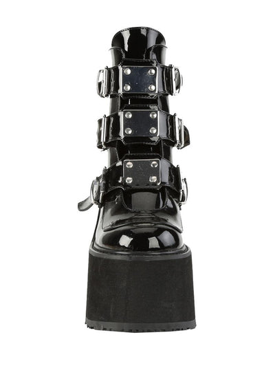 Women's Swing 105 Wedge Platform Boots by Demonia