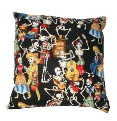 Day of the Dead Throw Pillow by Hemet - InkedShop - 2