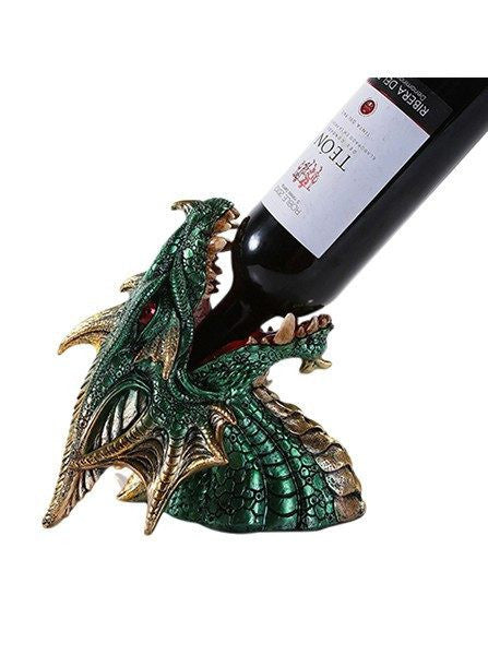 """Dragon"" Wine Holder by Pacific Trading - www.inkedshop.com"