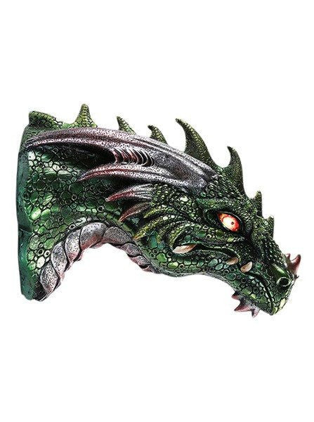"""Dragon"" LED Wall Plaque by Pacific Trading - www.inkedshop.com"