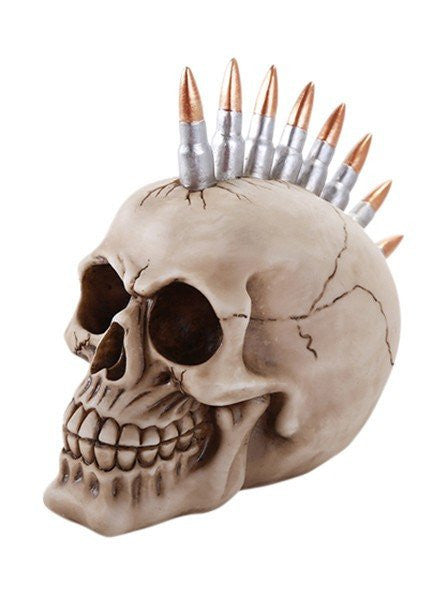 """Bullets Skull"" by Pacific Trading - www.inkedshop.com"
