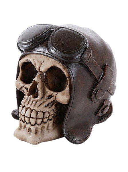 """Aviator Skull"" by Pacific Trading - www.inkedshop.com"