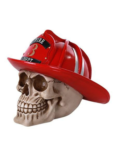 """Firefighter Skull"" by Pacific Trading - www.inkedshop.com"