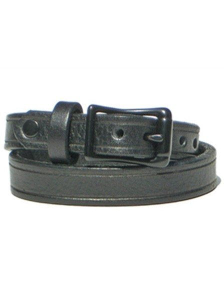 "1/2"" Double Wrap Bracelet by Lucky Dog Leather - InkedShop - 1"