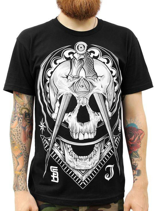 "Men's ""Not So Secret Society"" Tee by Steadfast x Inked (Black) - www.inkedshop.com"