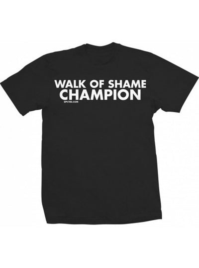 "Unisex ""Walk of Shame Champion"" Tee by Dpcted Apparel (More Options) - www.inkedshop.com"