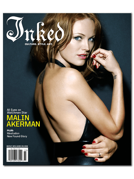Inked Magazine: Malin Akerman - March 2009 - InkedShop - 1