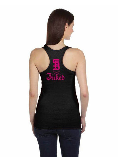 "Women's ""My Life My Way"" Tank by Steadfast x Inked (Black) - InkedShop - 2"