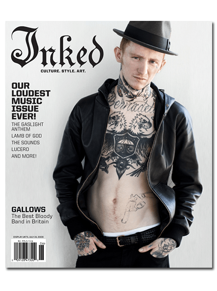 Inked Magazine: Gallows - June 2009 - InkedShop - 1