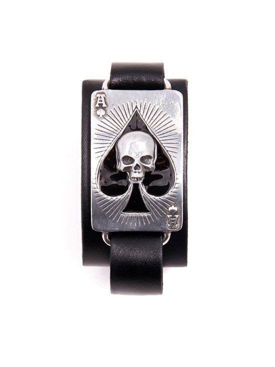 """Ace of Dead Spades"" Bracelet by Alchemy of England - InkedShop - 1"