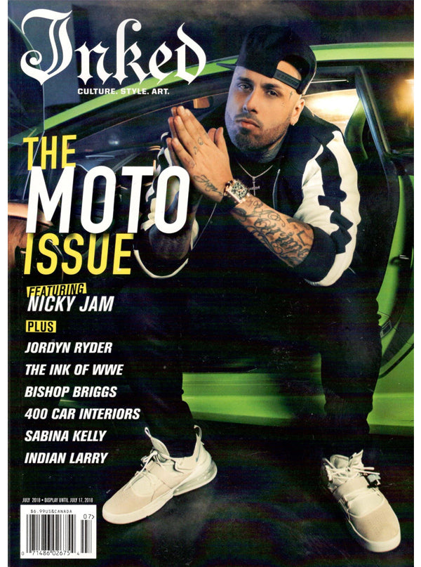 Inked Magazine: The Moto Issue (2 Cover Options) - July 2018