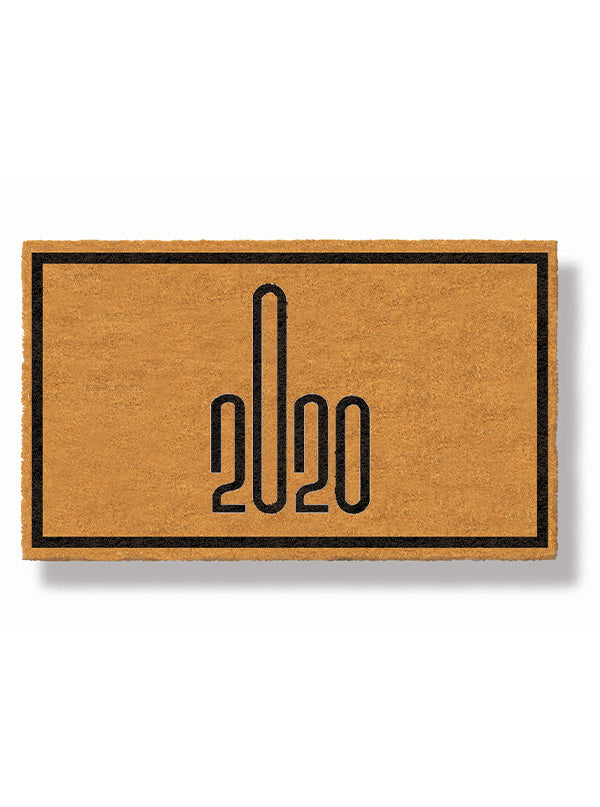 2020 Middle Finger Doormat by Funny Welcome