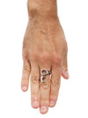 """12 Point"" Ring by Spragwerks (Sterling Silver) - www.inkedshop.com"