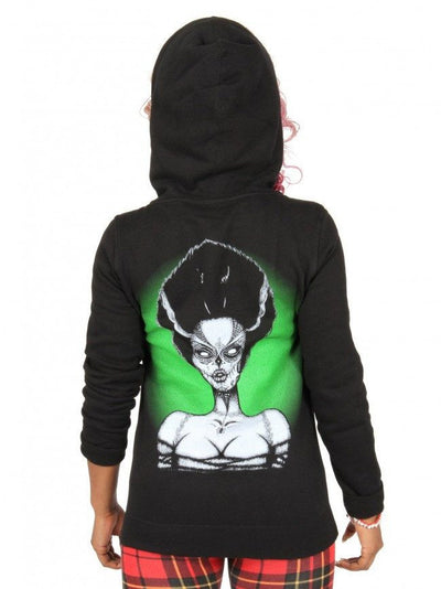 Women's Dead Bride Hoodie by Lowbrow Art Company - InkedShop - 3
