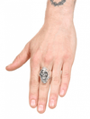 """Grim Reaper"" Ring by Billy Rebs (Silver) - InkedShop - 3"