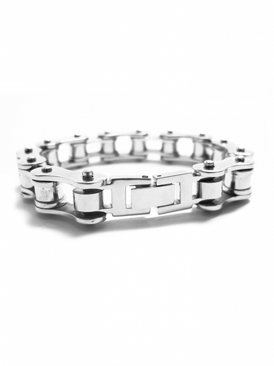 """Bicycle Chain"" Bracelet (Stainless Steel) - InkedShop - 1"