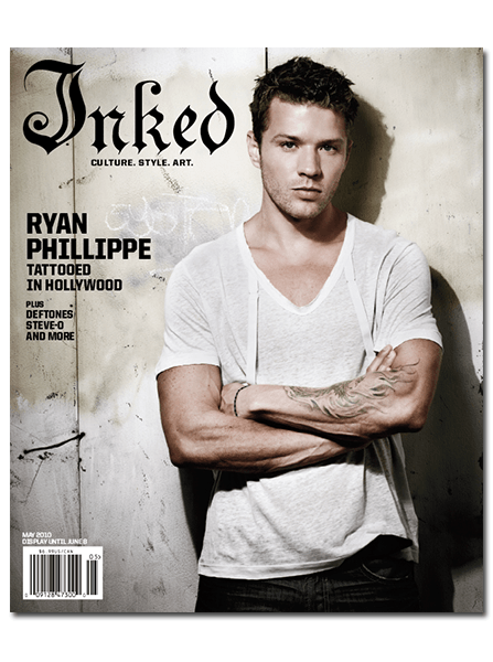 Inked Magazine: Ryan Phillippe - May 2010 - InkedShop - 1