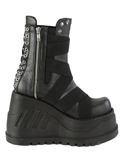 Women's Stomp 25 Vegan Platform Boots by Demonia