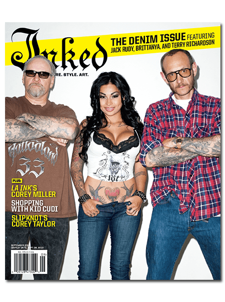 Inked Magazine: Denim Issue - September 2010 - InkedShop - 1