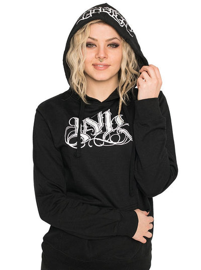 "Women's ""Ink Meas"" Lightweight Hoodie by InkAddict (More Options) - www.inkedshop.com"