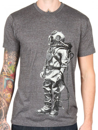 "Men's ""Exploration"" Tee by Annex Clothing (Grey) - InkedShop - 3"