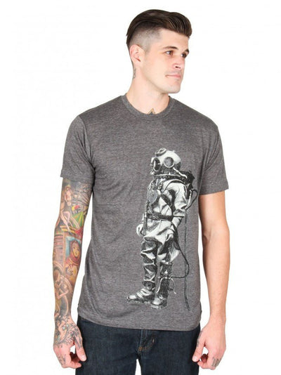 "Men's ""Exploration"" Tee by Annex Clothing (Grey) - InkedShop - 1"