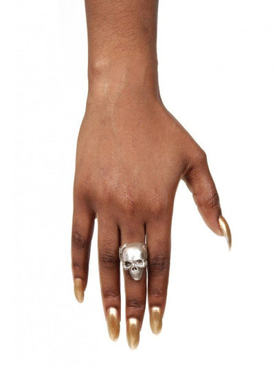 """Another Day Above Dirt"" Skull Ring by Blue Bayer Design - InkedShop - 2"