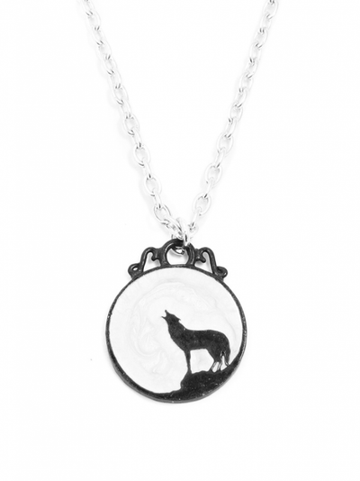 """Wolf"" Necklace by Alchemy of England - InkedShop - 1"