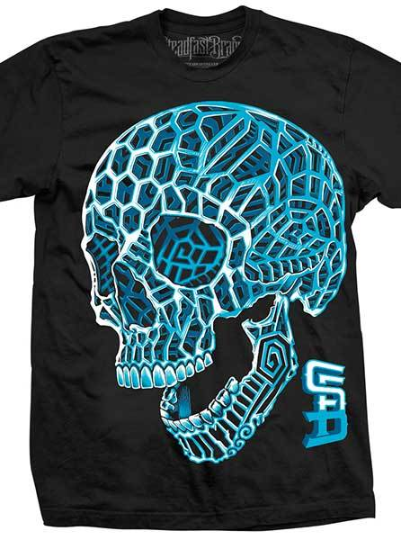 Men's 3D Skull Tee by Steadfast Brand (More Options)