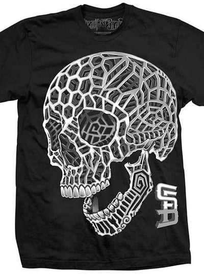 Men's 3D Skull Tee by Steadfast Brand