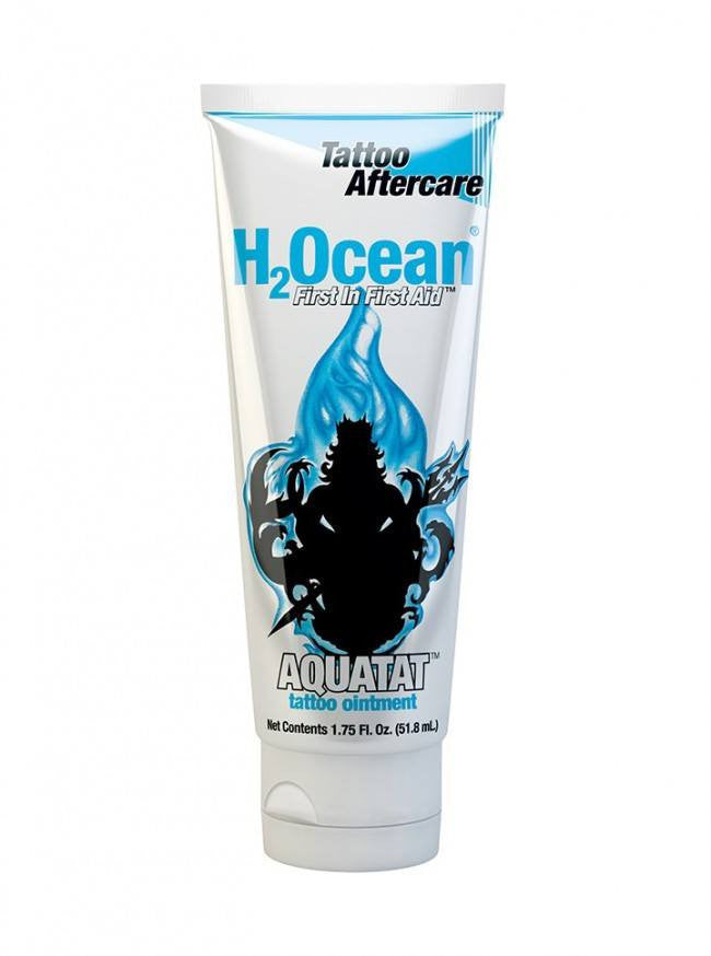 1.75oz Aquatat Tattoo Aftercare Ointment by H2Ocean - Inked Shop