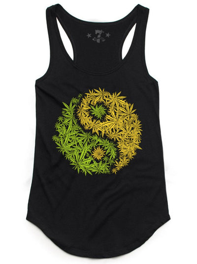 Women's 420 Yin Yang Tank by 7th Revolution