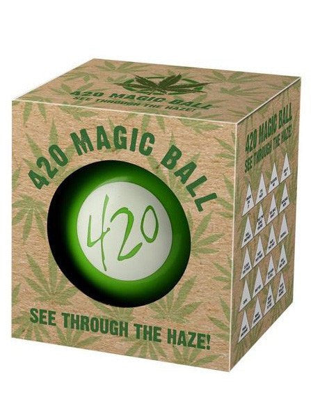 """420"" Magic Ball (Green) - www.inkedshop.com"